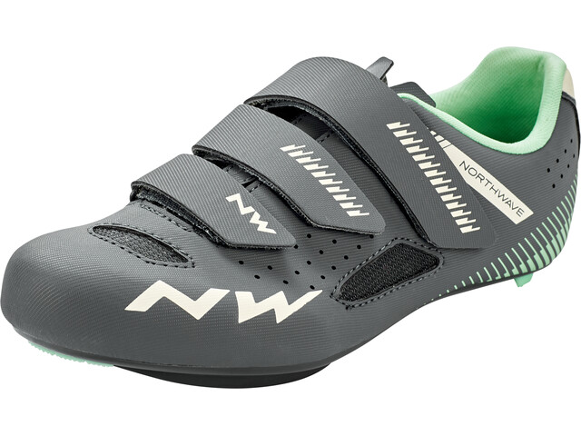 Northwave Core Chaussures Femme, anthracite/light green